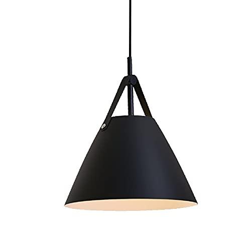 Candelabros, Iluminación De Techo, Cinturón Creativo De Araña (E27) Adecuado Para Un Accesorio De Iluminación Moderno En La Sala De Estar, Comedor, Dormitorio, Sala (Color : Black)