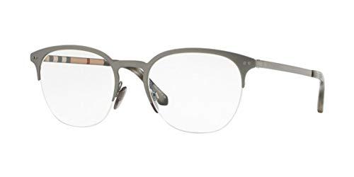 Burberry 0BE 1327 1273 53 Gafas de sol, Gris (Gunmetal/Matte Gunmetal), Unisex Adulto