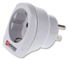 Best Price Square Travel Adaptor, Europe TO USA, White 1.500203 di SKROSS