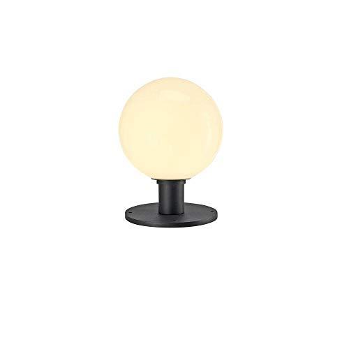 SLV LED Standleuchte GLOO PURE 27 | Kugel-Leuchte zur Außen-Beleuchtung, Kugellampe, Leuchtkugel | Outdoor Wege-Leuchte, Stehlampe außen, Garten-Beleuchtung, Garten-Lampe | E27, max. 23W, EEK E-A++