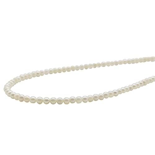 真珠 パール ネックレス あこや真珠 パールネックレス 3mm-3.5mm ベビーパール ホワイトカラー シルバー アコヤ本真珠 カジュアル