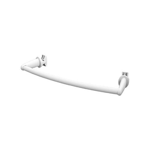 Handy Flex - Toallero, se fija directamente en el radiador de baño curvo - Blanco