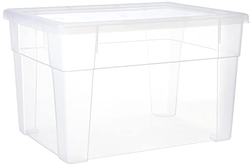 Stefanplast 3870420 Visualbox, Scatola di plastica, Bianco Trasparente, 39 x 29 x 24 cm