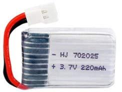 OUYBO 3.7V 220mAh Lipo Batteria + 3.7V Caricabatterie for X4 X11 X13 RC Drone quadcopter Ricambi 702025 3.7v 1-5pcs batterie ricaricabili Accessori per batterie di parti RC (Color : Green)