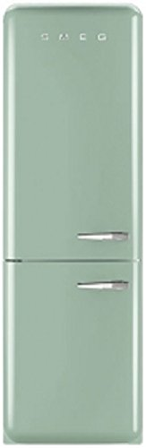 Smeg FAB32LVN1 Independiente 304L A++ Verde nevera y congelador - Frigorífico (304 L, SN-T, 41 dB, 10 kg/24h, A++, Verde)