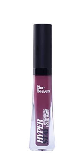 Blue Heaven Hyperstay Liquid Matte Lipcolor,Wild Plum-07, 6 ml