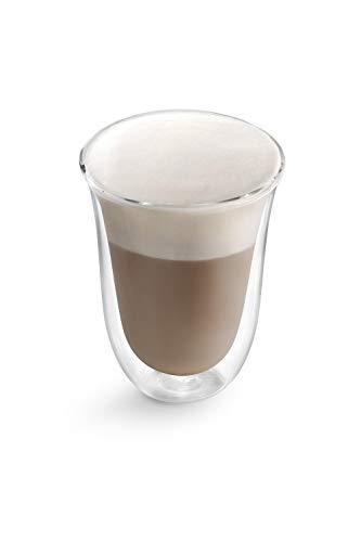 Delonghi 5513214611 Kaffeeglas Transparent 2 Stück(E) 220 Ml - Kaffeegläser (Transparent, Glas, 2 Stück(E), Klar, 220 Ml, 117 Mm)