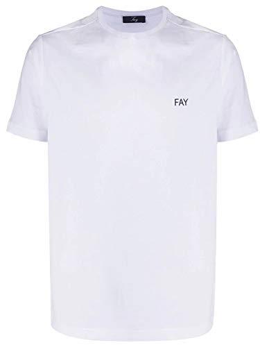Fay Luxury Fashion Uomo NPMB3401300PKUB001 Bianco T-Shirt | Stagione...