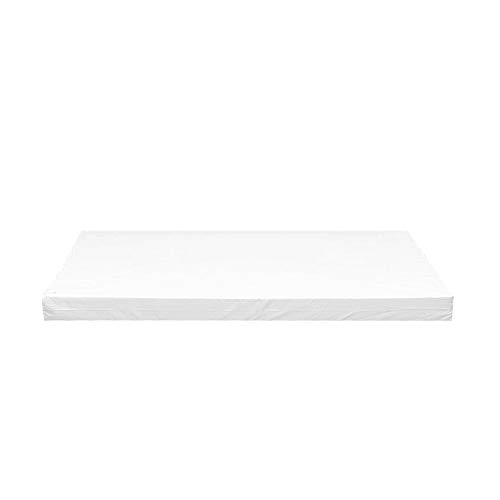 iStyle Mode Outdoor/Indoor Water Resistant 4 Seaters Bench And Patio Furniture Padded Cushion ONLY Garden Furniture Pad 170cm x 52cm x 7.5cm thick (White)