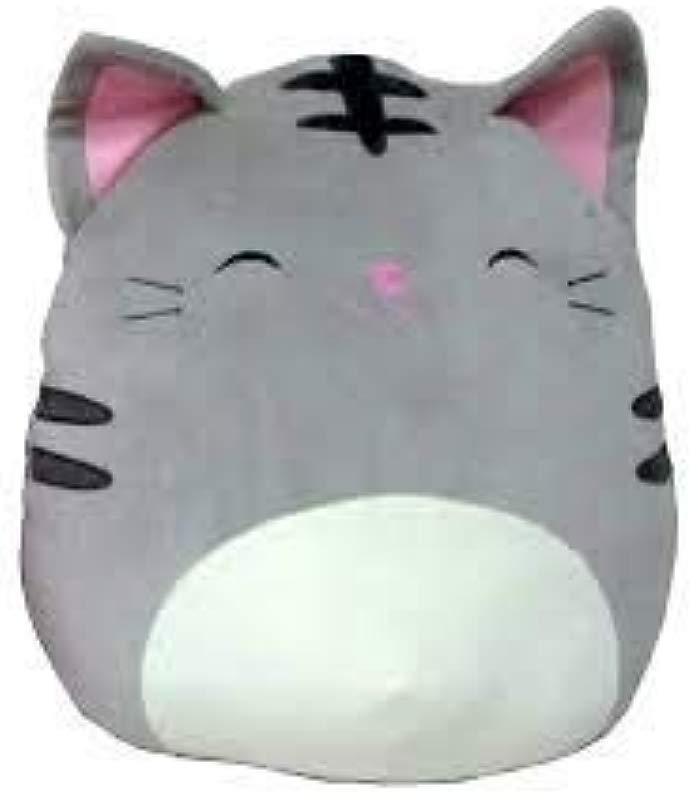 Squishmallows 16 Plush Soft Pillows Animal Grey Black Tally The Cat