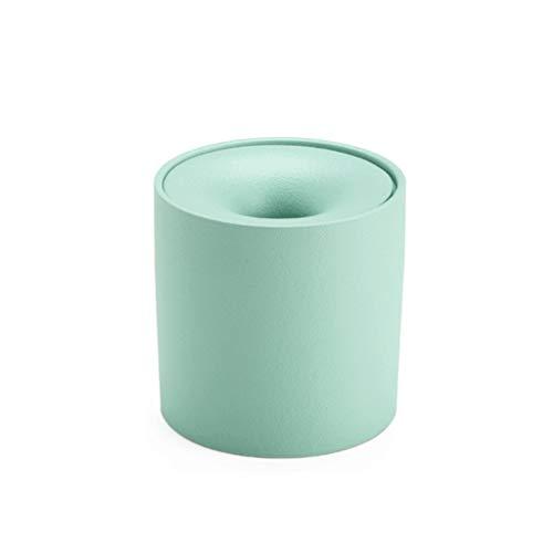 ZANZAN Cenicero de cerámica para Cigarrillos con Forma de Embudo a Prueba...