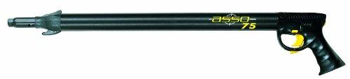 Seac Asso S/R, Fucile Subacqueo Pneumatico ad Aria Compressa per Pesca Sub, Nero, 40