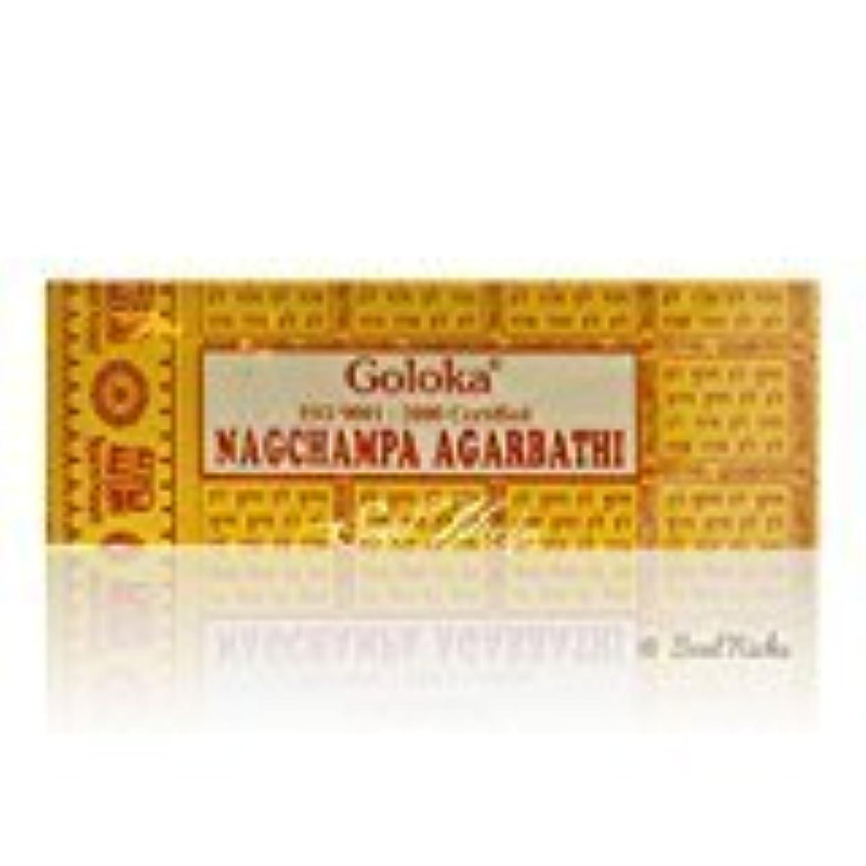 クリーム王女洋服100g Grams Goloka Nag Champa Agarbathi Incense Sticks - High Quality [並行輸入品]