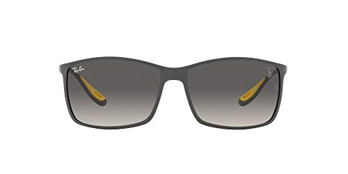 Ray-Ban 0RB4179M Gafas, Matte Grey, 60 Unisex Adulto