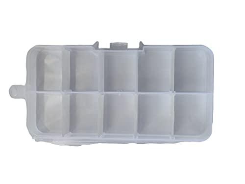 Organizer prodotti confezione 1 pezzi dimensioni 13 x 7 cm accessori ferramenta