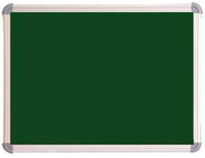 Iconic Mini Chalkboard, Greenboard,Blackboard (Non-Magnetic) for Kids, Office and Home Lightweight Aluminium Frame (Pack of 1) (2x2 Feet)