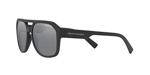 Armani sunglasses for men and women AX Armani Exchange Men's Ax4074s Rectangular Sunglasses