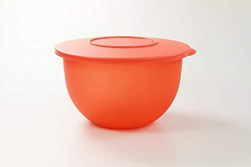 Tupperware Junge Welle Schüssel 2,5 L orange Servierschüssel Servieren
