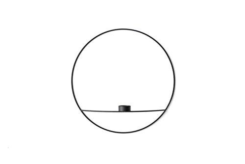 Menu - POV Circle Teelichthalter - schwarz - L - Note Design Studio - Design - Kerzenhalter