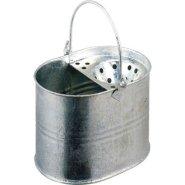 Keto Plastics - Cubo para fregona (metal galvanizado)