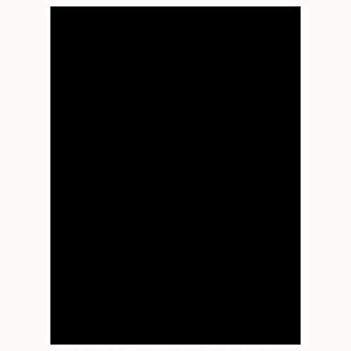 Cooja Statische Fensterfolie Dunkel, Blickdicht UV Schutzfolie Sichtschutzfolie Fenster Ohne Kleber Selbstklebend Verdunkelungsfolie Glasfolie 44x200cm -Schwarz