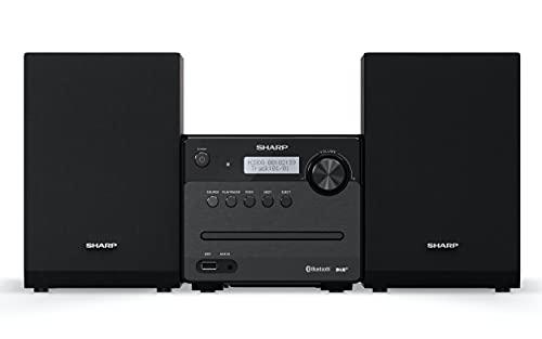 SHARP XL-B515D BK Micro Sound Bild