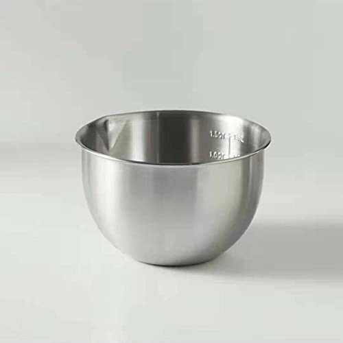 Mixing bowls,thick non-slip bowl, multifunctional mixing bowl,chrome steel mixing bowls, fruit meals container, kitchen cooking utensils