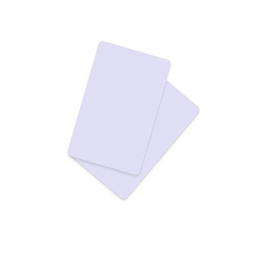 NFC Ntag216 RFID Karten compatibili con tutti gli Samsung Android Windows Nokia HTC LG G4, 13.56 MHz Bianco (20 pezzi)