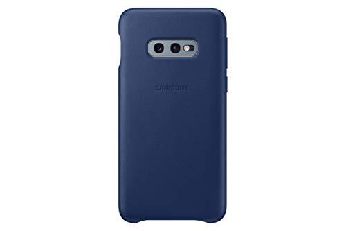 Leather Cover für Galaxy S10+ Marineblau