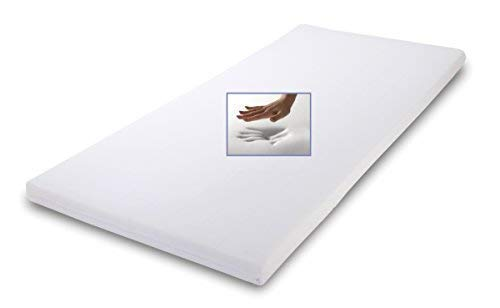 Elsa mattress overlay 80 x 200 x 7cm ecru