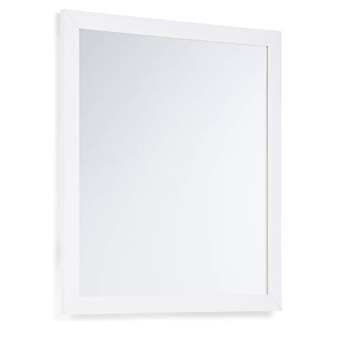 Simpli Home Chelsea 32 inch x 34 inch Bath Vanity Décor Mirror -
