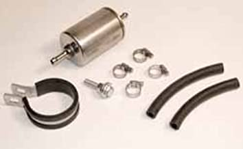 Land Rover STC1677 Fuel Filter Retrofit Kit with Filter, Connector Hoses, and Clamps for Defender 90, Discovery 1, Range Rover P38, and Range Rover Classic
