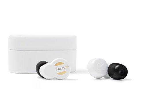 Oferta de QuietOn Q1WH - Tapones para los oídos, (cancelación de Ruido hasta 40 dB), Blanco