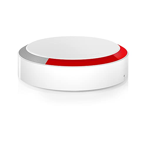 Somfy 2401491 - Sirène Extérieure Somfy Protect | Compatible Gammes Home Alarm et Somfy ONE | 112dB & Flash Lumineux