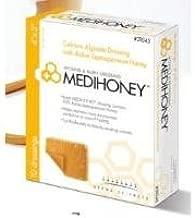 Derma Sciences MEDIHONEY Calcium Alginate Dressing, 2