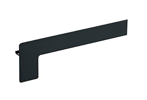 Fensterbank Endstück Aluminium Klinker 50-400 mm WEISS SILBER ANTHRAZIT BRONZE