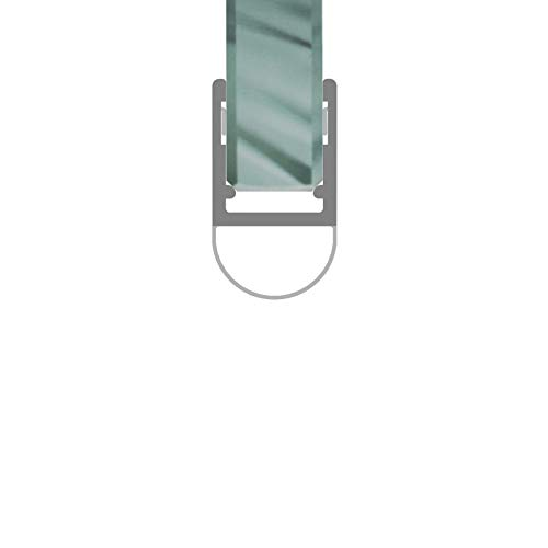 Duschdichtung Streifdichtung Balgdichtung Anschlagdichtung für eine Glasstärke von 4/5/6/8 mm 2 Meter