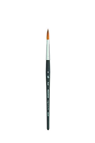 Princeton Aqua Elite, Series 4850, Synthetic Kolinsky Watercolor Paint Brush,Round, Size 8