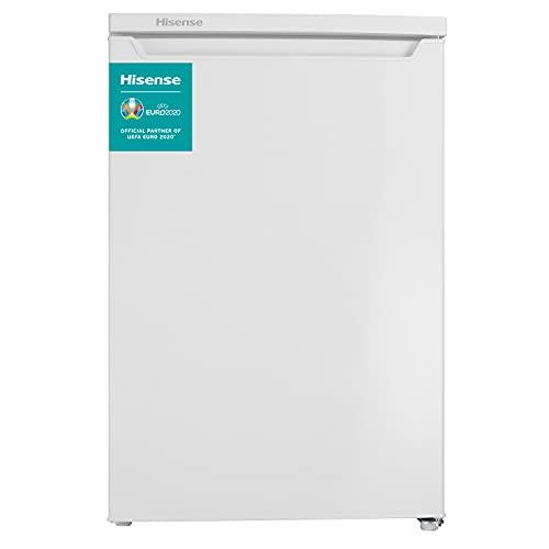 Hisense RL170D4AW2 - Frigorífico de una puerta reversible, con 138 L de Capacidad, despensa vertical en color Blanco