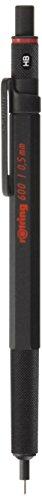Rotring 600 Black Knurled Grip 0.5mm Mechanical Pencil (japan import)