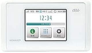 UQ WiMAX2+ Speed Wi-Fi NEXT WX05 ピュアホワイト