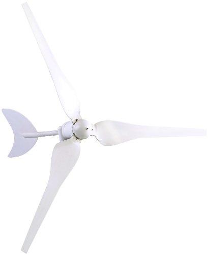 reVolt Windkraftanlage: Windgenerator für 12-Volt-Systeme, 50 Watt (Windgenerator 12V Wohnmobil)