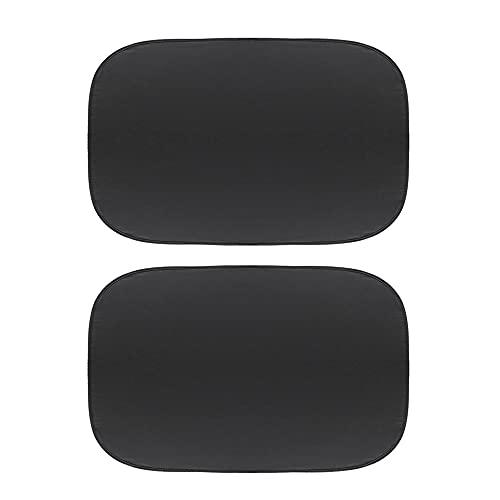 LINMAN Coche Sunroof Shade Heat Aisle Auto Techo Cubierta de la sombrilla decoración Anti-Mosquito Plegable, Compatible con Mini Cooper Parasol Coche Visor Protec (Color : 2 Pieces)