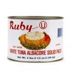 Ruby: Solid White Albacore Tuna 66 Oz (2 Pack)