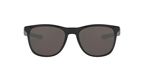 Oakley Men's Trillbe X 0OO9340 Rectangular Sunglasses, MATTE BLACK, 52 mm