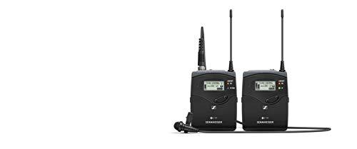 Conjunto portátil de micrófono lavalier inalámbrico Sennheiser (EW 112P G4-E)