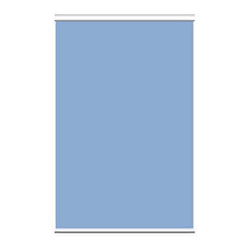 YUDEYU Persiana Enrollable Color Sólido Espesar Media Sombra Casa Oficina Levantar Instalación Manual Velas de Sombra protección Solar (Color : Azul Claro, Size : 1.35x2m)