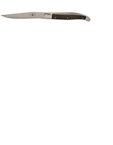 Couteau Pliant Laguiole - Forge De Laguiole - 11cm Chêne Fossilisé