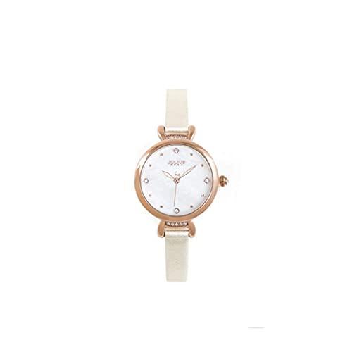 WYZQ Reloj para Mujer Simple Shiny Shell Letter Impermeable Moda Estudiante Reloj para Damas (Color: B) (Color: B), Relojes