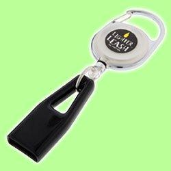 Aansteker Leash - Intrekbare Aansteker Houder (Premium Karabijnhaak Clip)